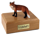 Fox Urn: with Figurine