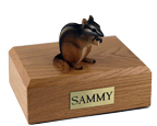 Chipmunk Urn: with Figurine