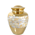 Small Pet Urn Mother of Pearl