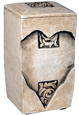 Heart Keepsake Pet Cremation Urn, Extra Small Size