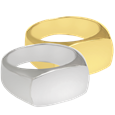 rectangle ring pet cremation jewelry