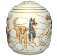 Dog Cremation Urn: Good Day Sunshine