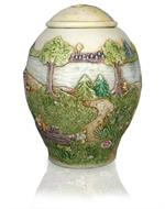 additional view of rainbow bridge small dog pet cremation urn