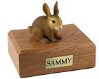 Rabbit Urn: with Figurine