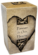 Forever in our Hearts, Large Size Pet Cremation Stone Urn