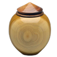 Tulip Poplar Urn for Small Dog or Pet