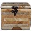 Rustic Pine Wood Log Pet Urn