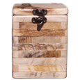 Rustic Wood Log Natural Pet Urn