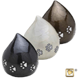 tear drop pet urn