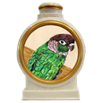 pet bird portrait urn