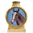 Colored Pencil Horse Portrait urn