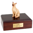Cat Urns Siamese, Tan