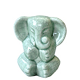 Buddha Elephant Mini Keepsake Urn