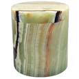 Alternate view of Medium Green Onyx marble pet urn