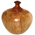 Maple Wood Pet Urn