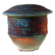 Raku-fired Pet Cremation Urn
