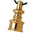 Pet Cremation Jewelry: Steadfast Brass Mini Urn