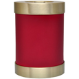 Alternate view of Pet Memorial Candle Holder Dog Urn- Scarlet