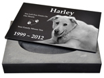 Granite Photo Pet Urn- 2