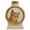 Another sample of cat oil portrait pet urn