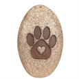 Pet Comfort Stone with heart inside paw