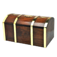 Treasured Memory Chest Wood Pet Urn