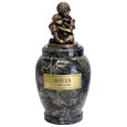 Faithful Friends Marble Pet Urn
