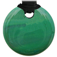 Pet Memorial Glass Urn Jewelry: Vintage Embrace Round Emerald