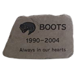 Pet Memorial Pet Headstone - Flagstone - Lilac - Small Size