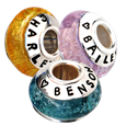 pet cremation beads for bracelet or necklace