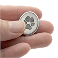 Comfort Stone with Pet's Actual Paw Print