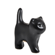black kitten keepsake urn