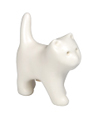 white kitten keepsake urn