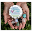 Healing Heart Candle and heart keepsakes shown in hands