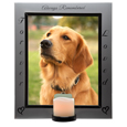 Pet Memorial Frame- Eternal Frame with Candle shown lit