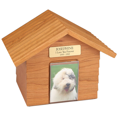 K-9 Cottage Urns Oak