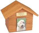 K-9 Cottage Urns: Oak