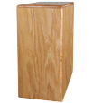 Book Shelf Pet Wood Urn- Oak