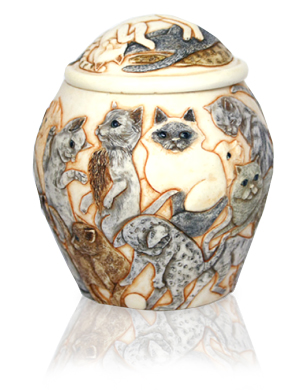 Cat Cremation Urn Cat Heaven