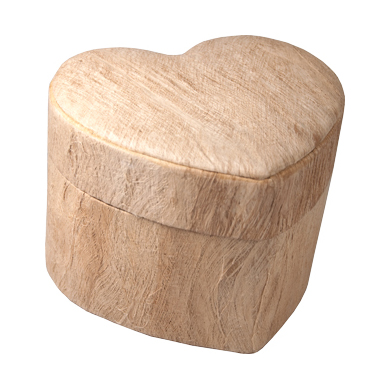 Biodegradable Pet Cremation Urn: Unity Wood Grain