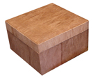 Biodegradable Pet Urns Wood Grain Equine Box Urn