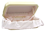 Pet Special Double Wall Deluxe Pet Casket- Pink