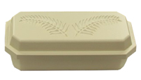 "Single Wall Pet Casket- Deluxe 20"" shown closed"
