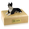 Pet Urns: Boston Terrier- Laying