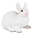 Figurine White Rabbit Urn