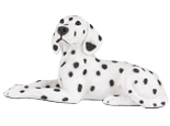 Figurine Dog Urns Dalmation