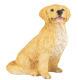 Figurine Dog Urns Golden Retriever