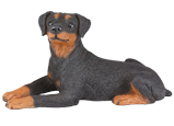 Figurine Dog Urns Miniature Pinscher Ears Down