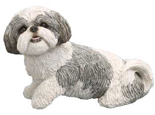 My Companion Keepsake Shih Tzu Silver White