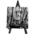Pet Photo Memorial Plaque - Square